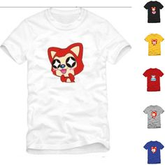 With high quality and popularity   * Extremely fashion, and eye-catching,   * Soft and comfortable to wear and touch   * Material: Cotton   * Color: , white, gray, yellow, blue, red,black ,   * Size: S, M ,L, XL, 2XL, 3XL   There are 36 cat styles, Normally, we send out this item as #1 cartoon, i...