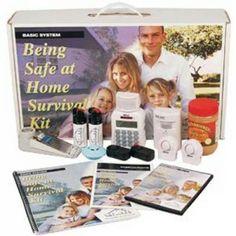 Safe-at-home survival kit