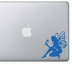 Fairy Decal/Sticker - custom, magic, vinyl, outdoor vinyl, car decal, computer decal, fairy, fairies, fairy magic, fairy gift, fae by WizardatNight on Etsy
