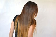 How to straighten hair naturally!