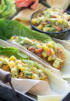 Vegan Sweet Potato Chickpea Wraps with Mango Avocado Salsa —Raw Food ...
