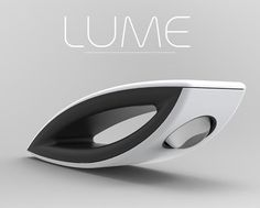 Lume - Flashlight uses peltier plates that turn heat from your hands into usable energy. #light #flashlight #YankoDesign