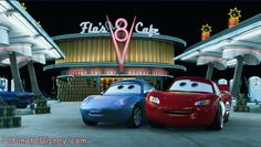 Sally & Lightning - 'Cars' (2006) why haven't I watched this in so long???? That's it, I have my weekend plans :-D