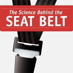 Find out exactly how a seat belt can save your life. #Infographic #seatbelt #Safety