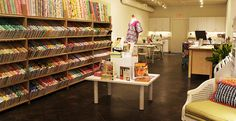 Citycraft fabric store in Dallas right behind Inwood Theater, beautiful fabrics and super nice ladies work there!!