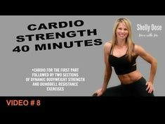 40 Minute Cardio Full Body Strength Training Full Length Home Workout Calorie Crushing - YouTube