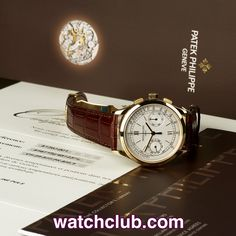 """Patek Philippe Chronograph Yellow Gold - """"Complete Set"""" REF: 5170J 