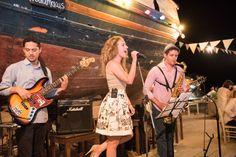 TARSANAS WEDDING PARTY-SYROS swing band old shipyard concept | lafete
