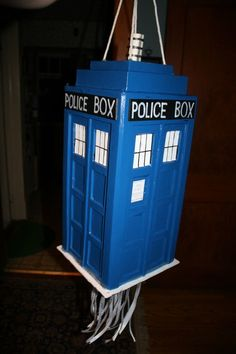 I might not be able to wait until Jonathan's birthday...this might need to be part of a Doctor Who party this summer.