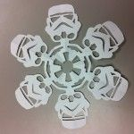 Stormtrooper Snowflakes - Directions on site