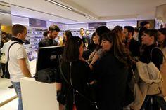 Tanta bella gente qui all'evento #Carrera nel nostro store di Corso Buenos Aires a #Milano. Il nostro punto vendita è letteralmente preso d'assalto! #SVeventi