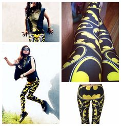 Superhero Batman Tights. These are amazing