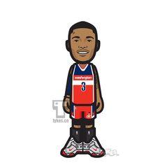 "Bradley Beal Washington Wizards ""NBA Playoffs"" Tyke. #BradleyBeal #WashingtonWizards #Wizards #basketball #NBA #NBAPlayoffs #tyke #tykes #MyTyke www.tykes.co"