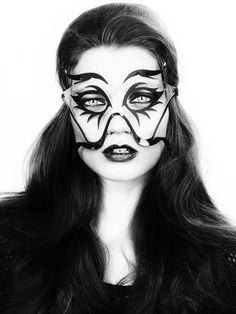 Max Steiner Design - I am obsessed. Best #Halloween Masks EVER. Moustache Mask