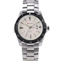 Curren Stainless Steel Luxury Men Watch Men's Quartz Watch Casual Watch Men Wristwatch relogio masculino quartz watch