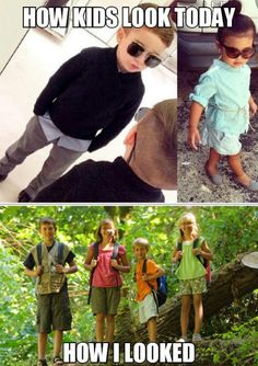 Funny pictures about Kids Fashion Now And Then. Oh, and cool pics about Kids Fashion Now And Then. Also, Kids Fashion Now And Then photos. Funny Quotes, Funny Memes, Hilarious, Fashion Now, Kids Fashion, Haha, Have A Laugh, Just For Laughs, Funny Posts