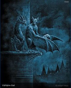 Joseph Vargo - Vampire Bat