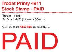 trodat printy self inking standard message dater