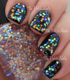 MEB's note: read the review via the link. New Zoya Monet glitter topper