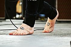 Christopher drew`s tattoos They are some of the cutest things ever! <3