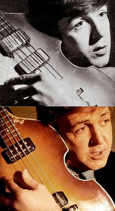 Paul McCartney then & now