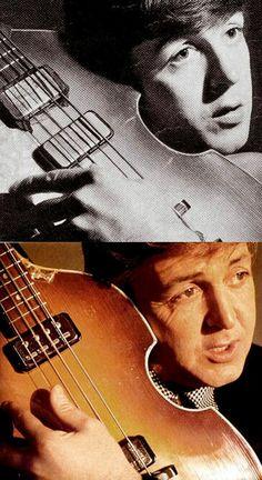 Paul McCartney... then & now.