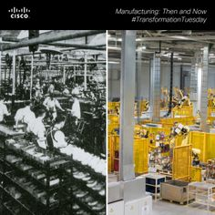 Then and Now: Why #Manufacturing isn't what it used to be