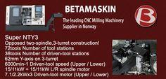 @beta_maskin CNC Milling Machinery Suppliers | Beta Maskin in Norway