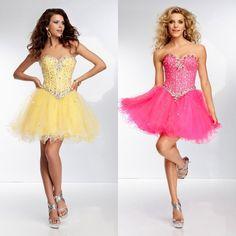 2014 New Arrival Sweetheart Beading Homecoming Dresses With Draped Edge Trim Elegant Girl Graduation Women's Clothing Cheap Slae $127.99