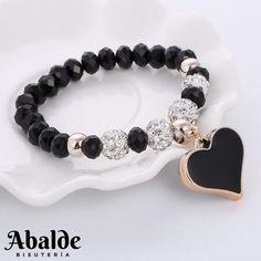 ZOSHI 2019 Crystal Bracelet & Bangle Elastic Heart Bracelets For Women Handmade Rhinestone Beads pulseira masculina Boho Jewelry Boho Jewelry, Beaded Jewelry, Jewelery, Jewelry Accessories, Cheap Jewelry, Jewelry Ideas, Silver Jewelry, Fashion Jewelry, Swarovski Jewelry