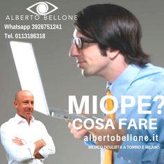 MIOPE? COSA FARE - Dr. Alberto Bellone - Oculista - Cura del cheratocono - Miopia - Astigmatismo - Vitrectomia | Milano e Torino  La miopia è un difetto di vista in cui i raggi luminosi provenienti da un oggetto situato all'infinito vanno a fuoco prima della retina (occhio troppo lungo o cornea troppo curva).  --- Visita: http://albertobellone.it/miopia --- @alberto.bellone.oculista --- #myopia #miopia #eyes #eye #cornea #occhio #occhi #curved #curva #curve #light #retina #myopos