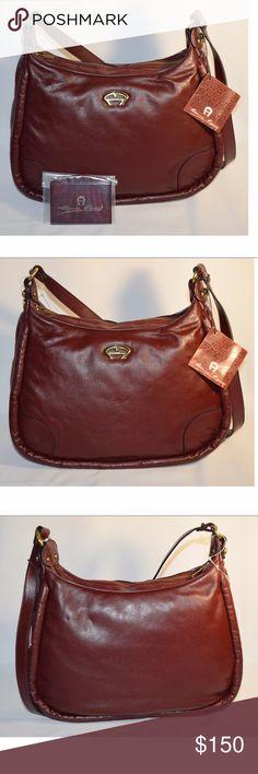 Shop Women s Etienne Aigner size OS Bags at a discounted price at Poshmark.  Description  Vintage new handbag - shoulder strap - drop - width - height  ... d795420c84147