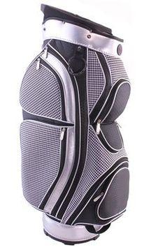 Hunter-NuSport Vogue Houndstooth Ladies Golf Cart Bag