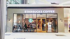 Starbucks Coffee Entrance