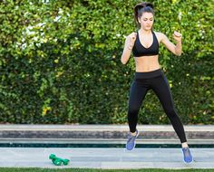 This winter workout requires no equipment and you can do it completely at home!