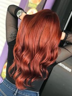 Red Lord you respect! Igora + + Flamingo Ox 20 by … - New Hair Turquoise Hair Ombre, Black Hair Ombre, Ombre Hair Color, Hair Color And Cut, Cool Hair Color, Love Hair, Gorgeous Hair, Beautiful, Red Hair Inspiration