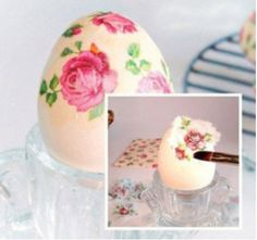 ♥Just Girly Things♥: Ideje za farbanje Uskršnjih jaj Decoupage, Diy And Crafts, Crafts For Kids, Easter Peeps, Just Girly Things, Egg Art, Easter Holidays, Nature Decor, Ideas