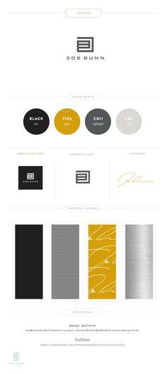 Joe Bunn Branding by Emily McCarthy www.emilymccarthy.com #branding