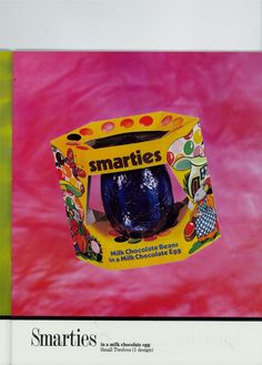 Vintage Smarties Easter Egg from 1978