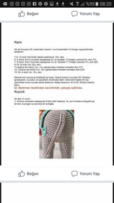 Pedro the Donkey amigurumi pattern by airali design - Her Crochet Easter Crochet Patterns, Crochet Doll Pattern, Baby Knitting Patterns, Doll Patterns, Crochet Zebra, The Donkey, Stuffed Toys Patterns, Cross Stitch, Asd