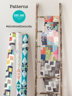 Patterns by #quiltjane #Showmethemoda
