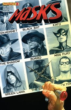 Masks - Alex Ross by cristina Comic Book Artists, Comic Book Characters, Comic Character, Comic Books Art, Comic Art, Alex Ross, A Mascara Do Zorro, Live Action, Gi Joe