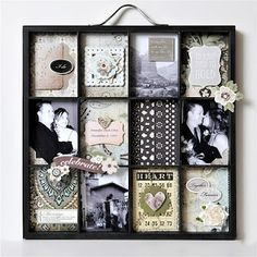 wedding shadow box - here's where my wedding stuff is going!
