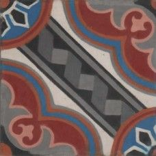 Moroccan Encaustic Cement Pattern 35a
