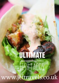 ULTIMATE fish-tacos; healthy, delicious and nutritious