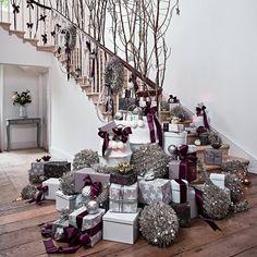 Merry Christmas To All, Christmas Tree Themes, Elegant Christmas, Christmas Design, Xmas Decorations, White Christmas, Christmas Holidays, Christmas Ornaments, Christmas Classics