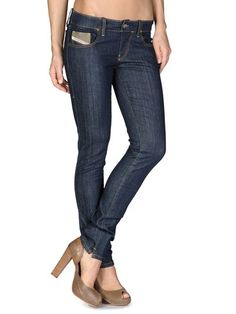 Super slim skinny Women - Denim Women on Diesel Online Store - StyleSays