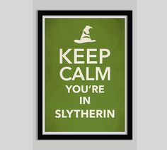Keep+Calm+Harry+Potter+Movie+Poster+Print+Slytherin+by+POSTERED,+$17.00
