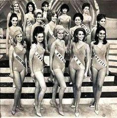 Top 15 semi Finalistas del Miss Universo 1967