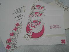 Invitation Cards - Invitation to Communion / Christening - - a design piece from jknieps-card window on DaWanda